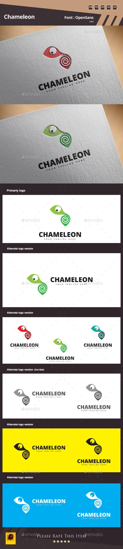 GraphicRiver Chameleon Logo Template 11123411