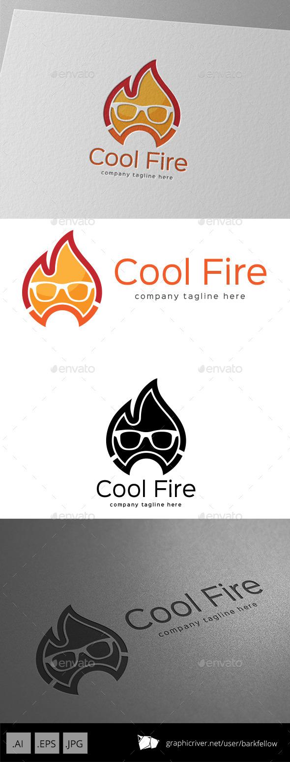 GraphicRiver Cool Fire Logo Design 11123409