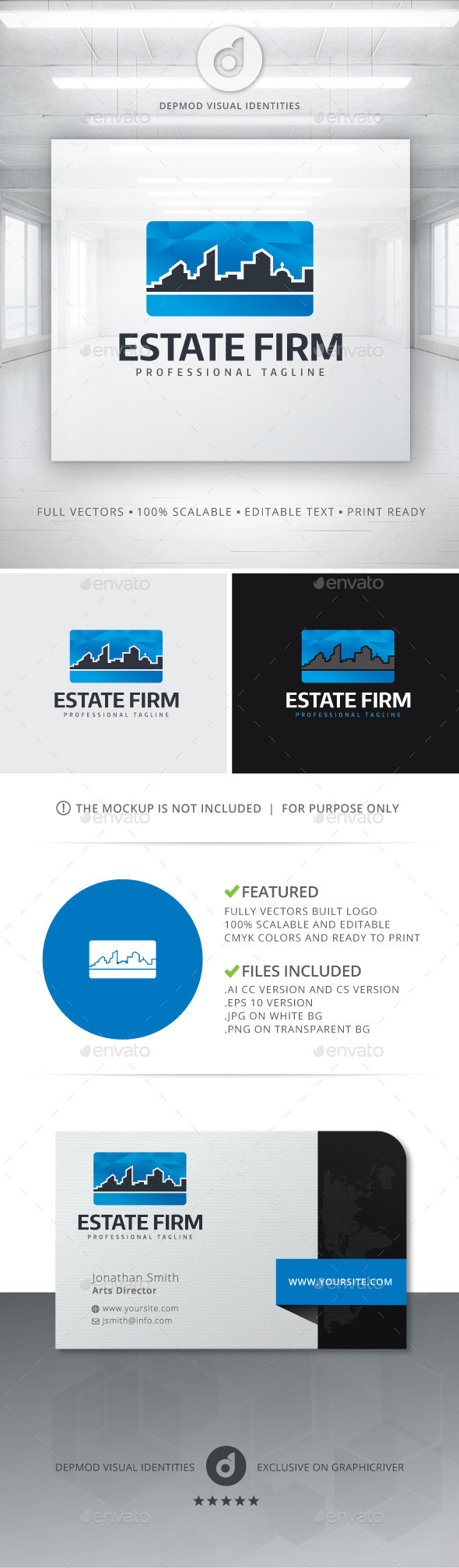 GraphicRiver Estate Firm Logo 11123487