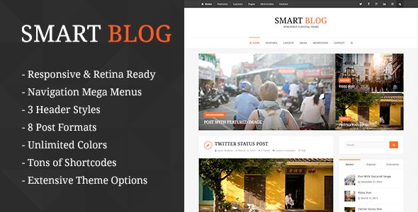 Smart Blog - Wordpress Theme For Personal Blog