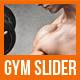 Gym & Fitness Slider - GraphicRiver Item for Sale