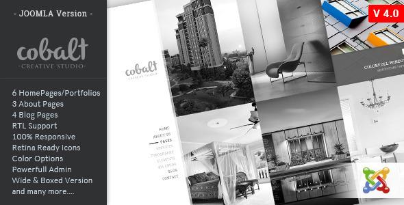 Cobalt - Responsive Multipurpose Joomla Theme - Joomla CMS Themes