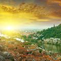 city and sunrise - PhotoDune Item for Sale