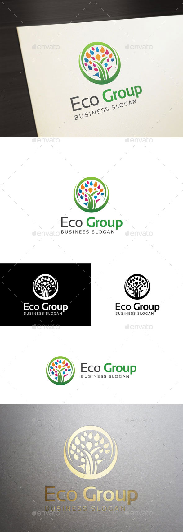GraphicRiver Eco Group 11124621