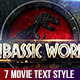 Movie Text Style Vol.4 - GraphicRiver Item for Sale