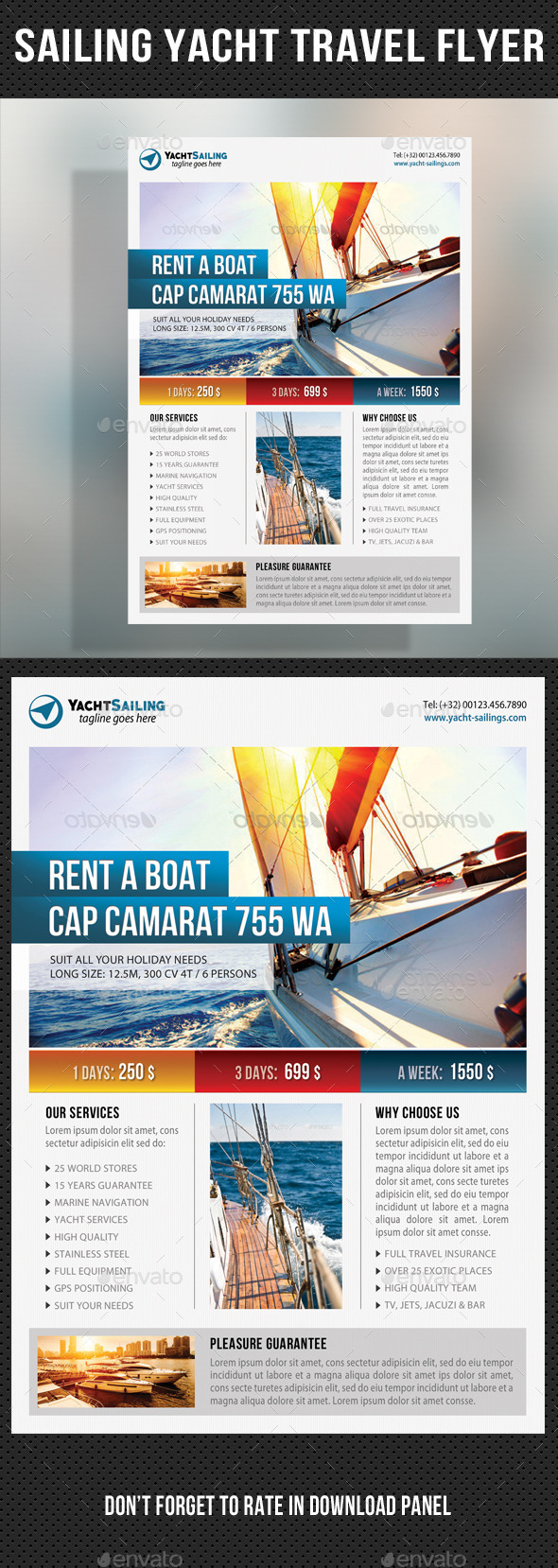 GraphicRiver Sailing Yacht Travel Flyer 04 11125223