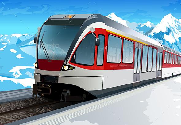 GraphicRiver Railway Station 11125224