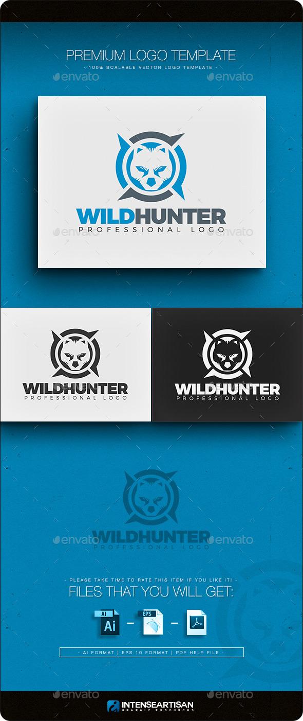 GraphicRiver Wild Hunter Logo Template 11125328