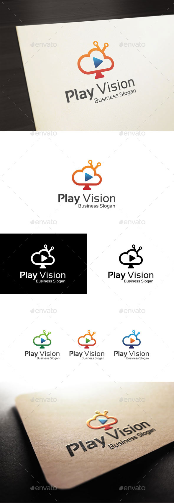 GraphicRiver Play Vision 11125394