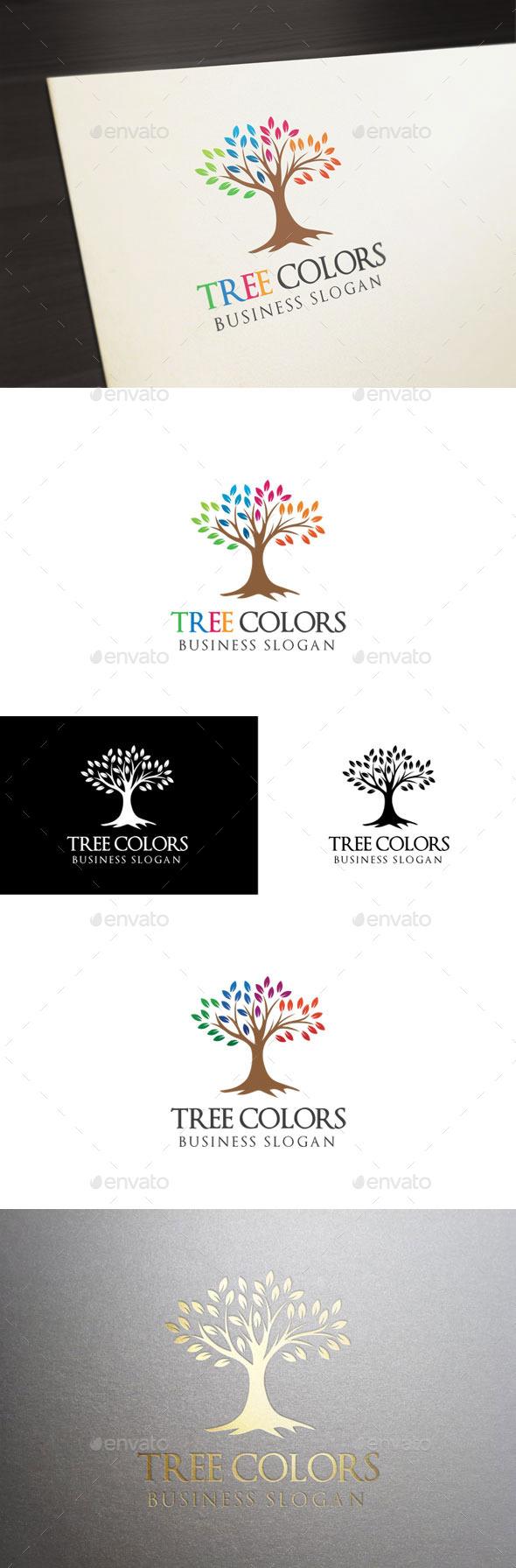 GraphicRiver Tree Colors 11125414