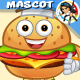 Burger Mascot - GraphicRiver Item for Sale