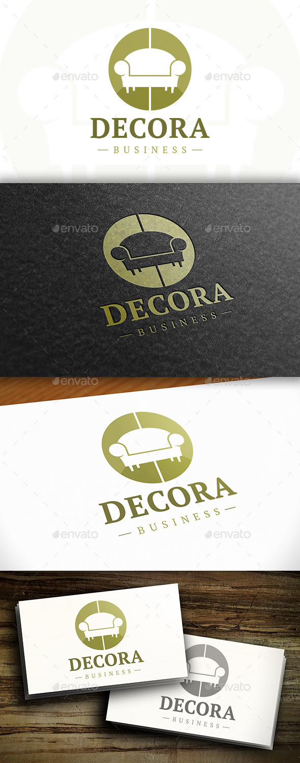 GraphicRiver Furniture Design Logo 11125540