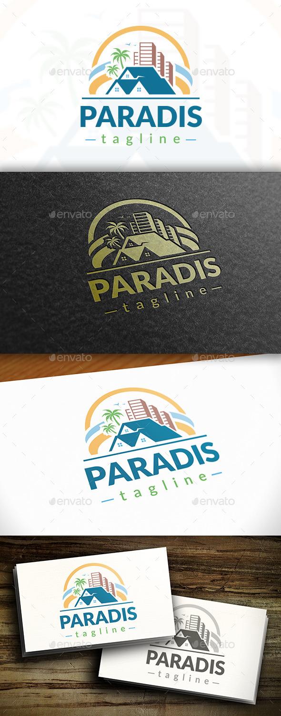 GraphicRiver Paradise Logo 11125580