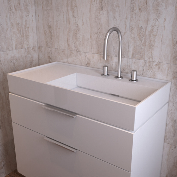 3DOcean Bathroom Sink Laufen Kartell 810339 11125586