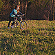 Girl is on a Bike Up - VideoHive Item for Sale