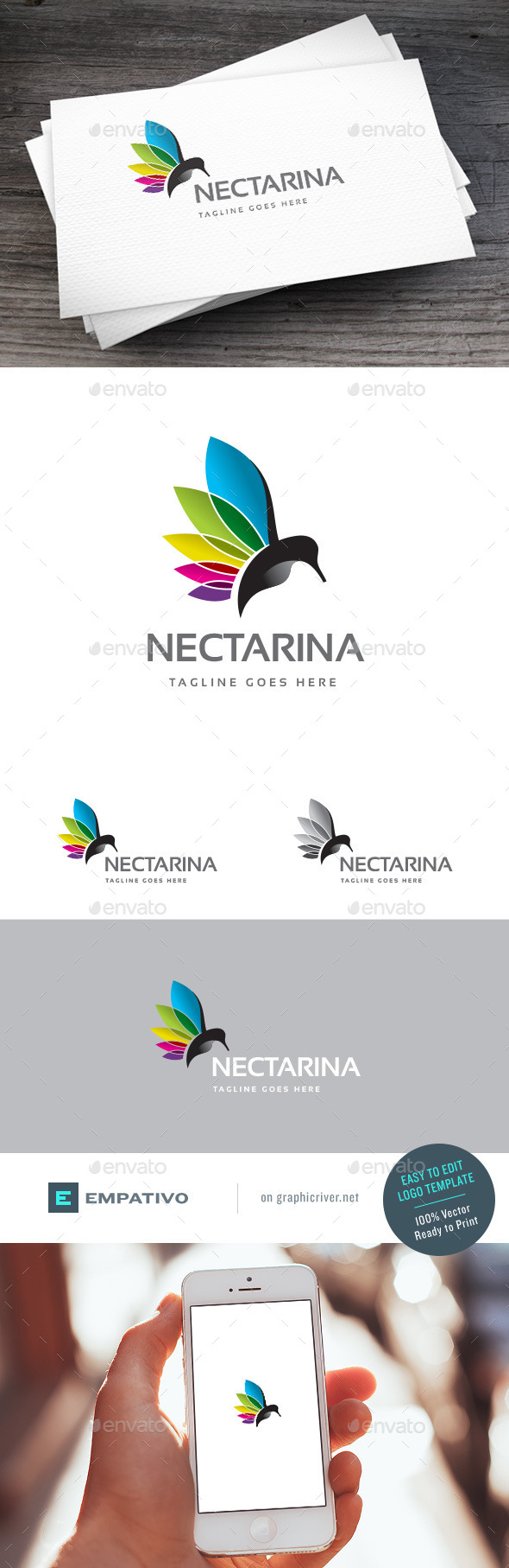 GraphicRiver Nectar Colors Logo Template 11125626
