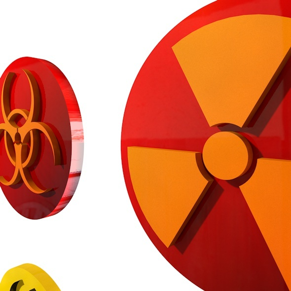3DOcean Biohazard Logo 11125744