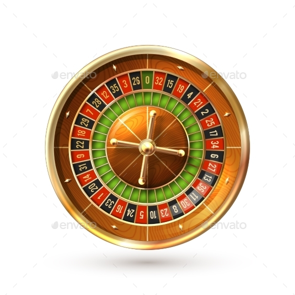 GraphicRiver Roulette Wheel Isolated 11125808