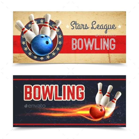 GraphicRiver Bowling Banner Set 11125866
