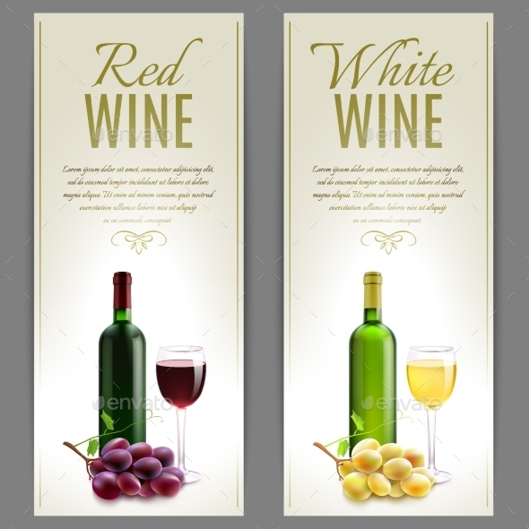 GraphicRiver Wine Banner Set 11125920