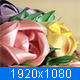 Handmake Flowers on Turntable - VideoHive Item for Sale