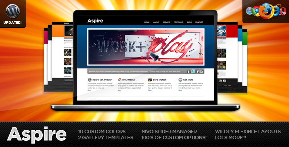 Aspire - Ultimate Wordpress Theme