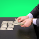 Businessman lays out Money on the Table - VideoHive Item for Sale