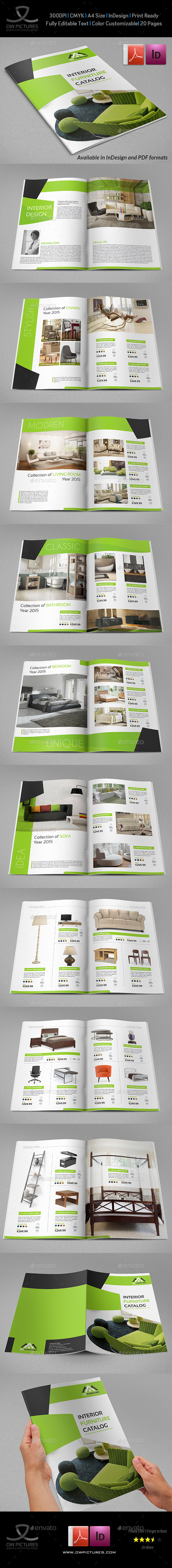 GraphicRiver Products Catalogs Brochure 20 Pages 11127077
