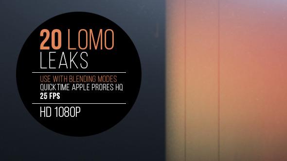 VideoHive 20 Lomo Leaks 11127116