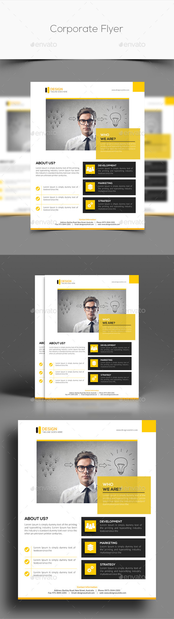 GraphicRiver Corporate Flyer 11127202