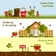Gardening Banners Set - GraphicRiver Item for Sale