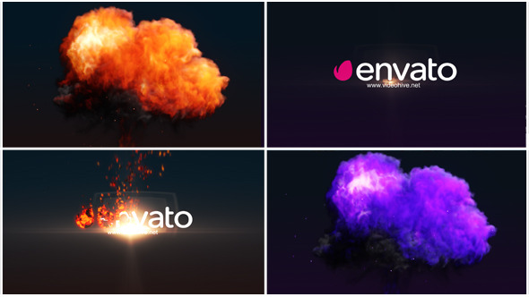 Fire Ball Logo Reveal (Logo Stings)