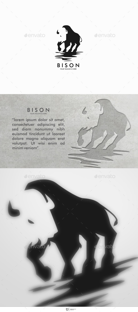 GraphicRiver BISON LOGO 11127991