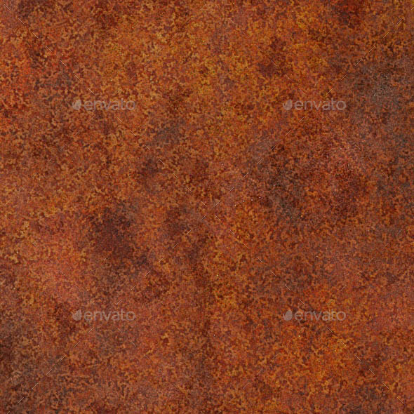 3DOcean Seamless Severely Rusted Metal Texture 11128021