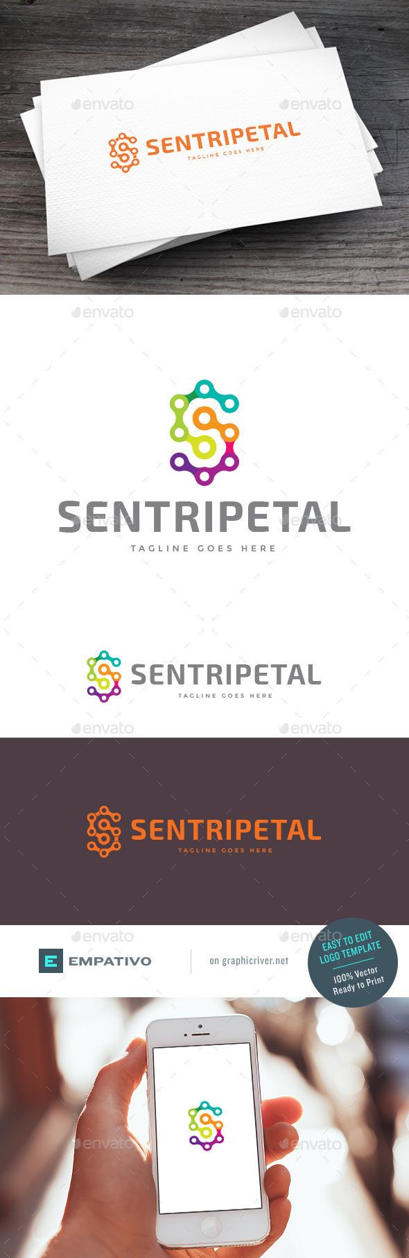 GraphicRiver Sentripetal Logo Template 11100988