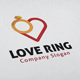 Love Ring Logo - GraphicRiver Item for Sale