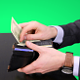 Businessman Leaves Money on the Table - VideoHive Item for Sale