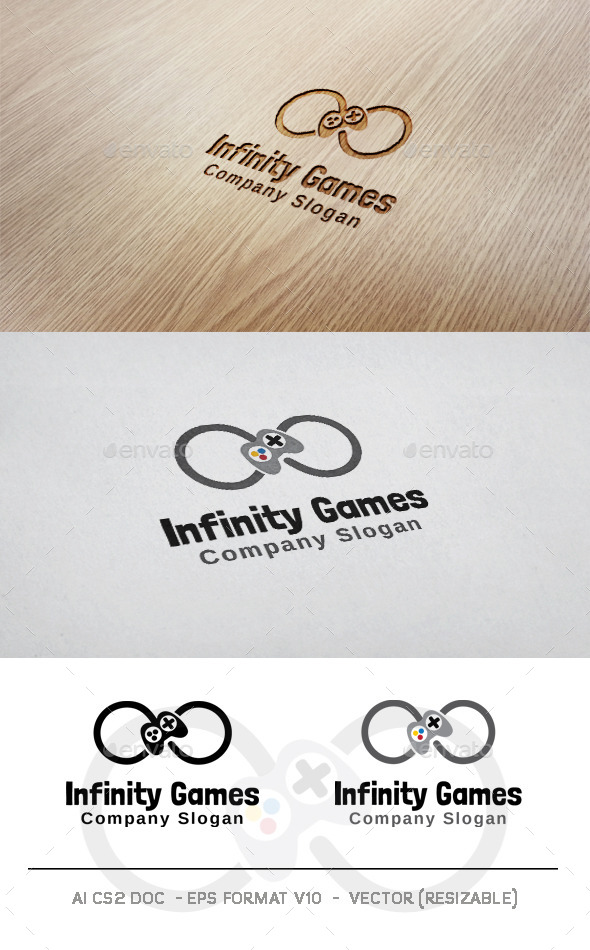 GraphicRiver Infinity Games Logo 11128516