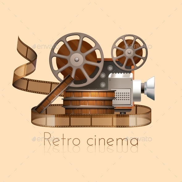 GraphicRiver Retro Film Illustration 11128584