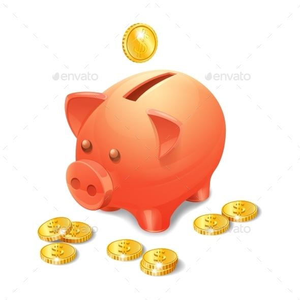 GraphicRiver Piggy Bank 11128588