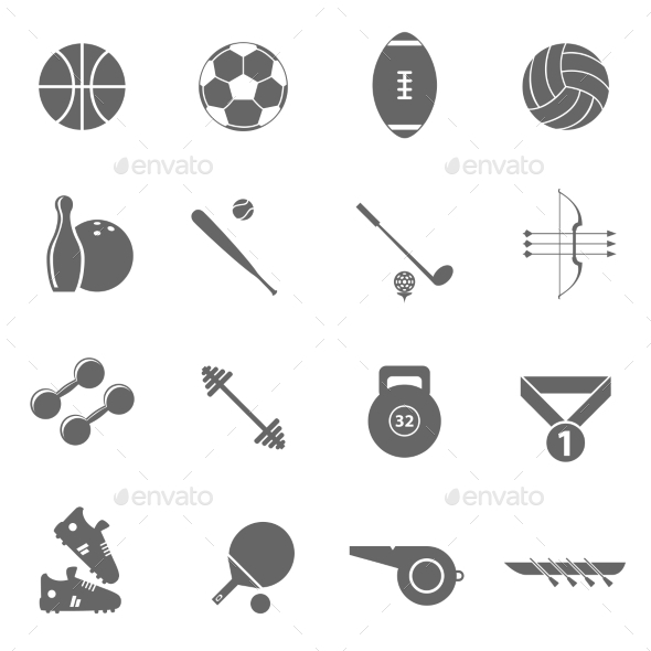 GraphicRiver Sport Icons 11128881