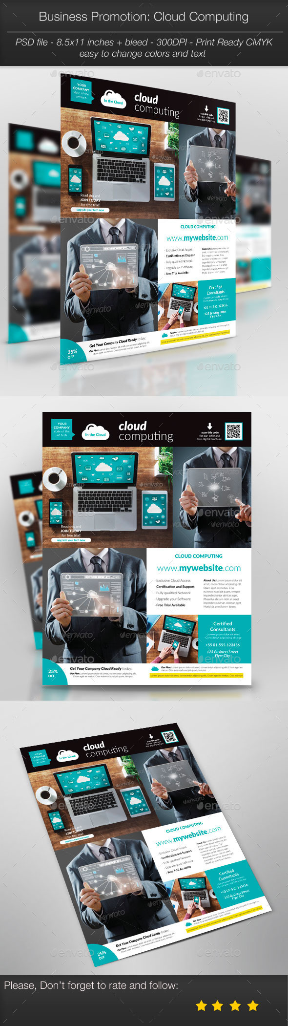 GraphicRiver Business Promotion Cloud Computing 11128918