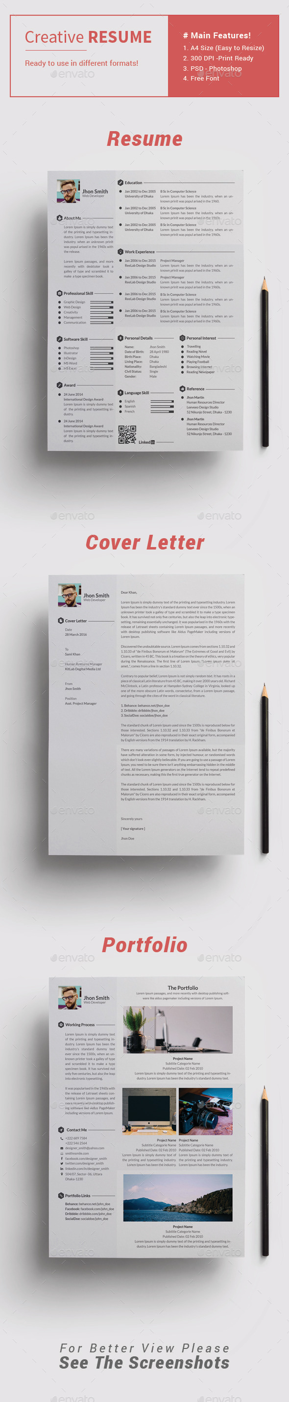 GraphicRiver Resume 11129003