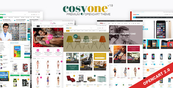 CosyOne - Premium Multipurpose Opencart Theme - OpenCart eCommerce