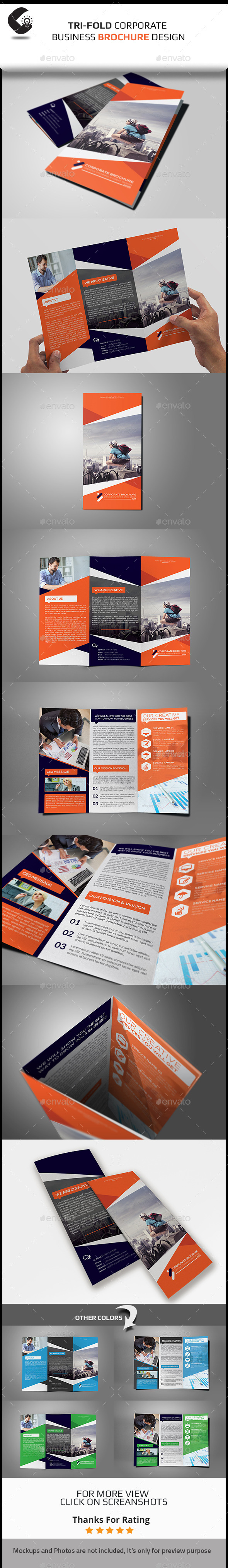 GraphicRiver Tri-Fold Brochure Multipurpose 11129156