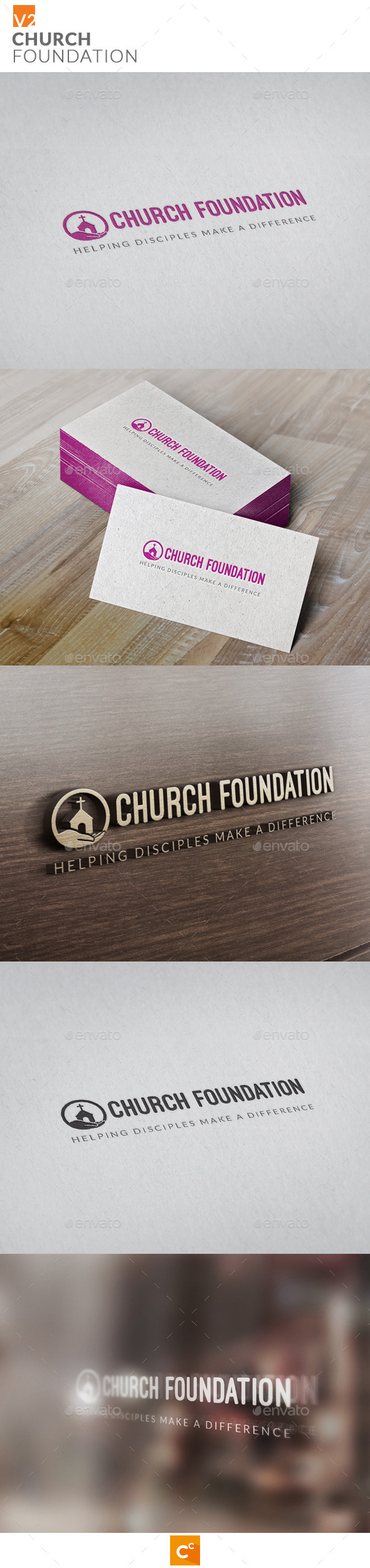 GraphicRiver Church Foundation v2 11129218