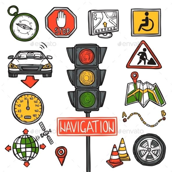 GraphicRiver Navigation Icons 11129259