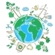 Doodle Ecology Concept - GraphicRiver Item for Sale