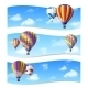 Air Balloon Banners - GraphicRiver Item for Sale