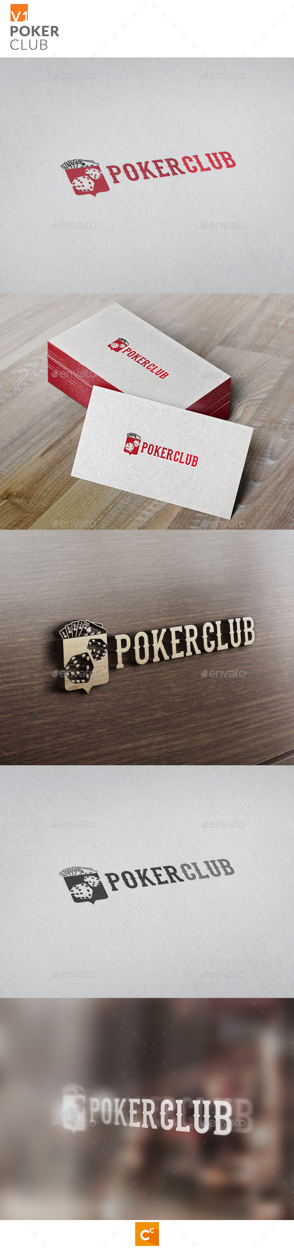 GraphicRiver Poker Club v2 11129286